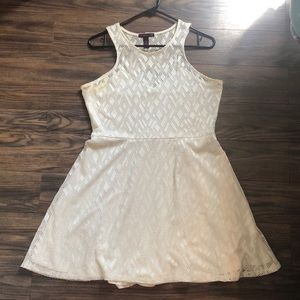 White form to flow dress